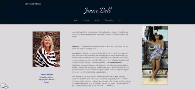 Janice Bell | Designer and Author website