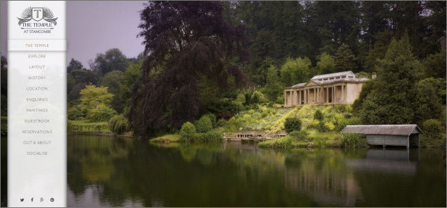 The Temple at Stancombe Park